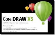 corel draw x5 splash
