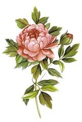 flor decoupage