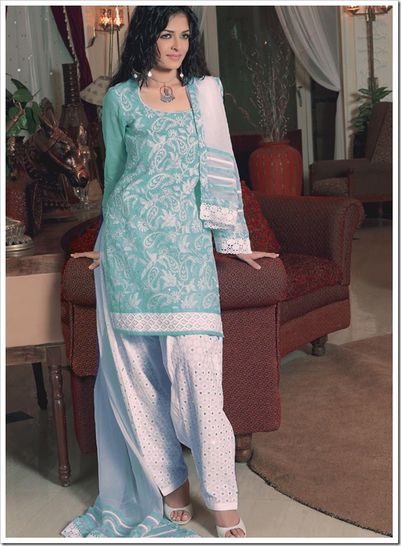 Embroiderd Shirt & Salwar