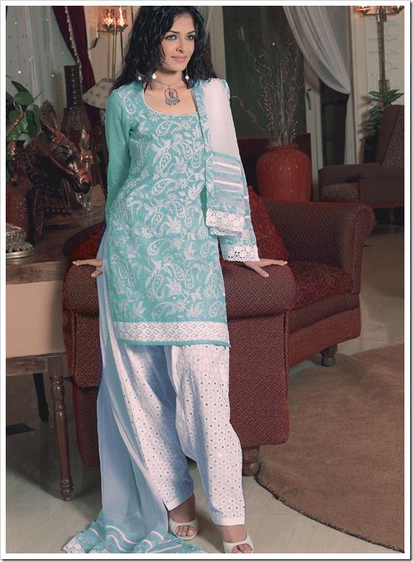 Embroiderd Shirt & Salwar