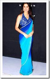 Katrina in blue