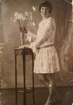 Sophies photo of Nan her Grandma 1920