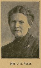 Reese, Mrs Jane (Josiah S) 1853-1914