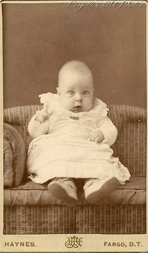 Extra Unknown Baby Haynes Fargo Dakota Territory