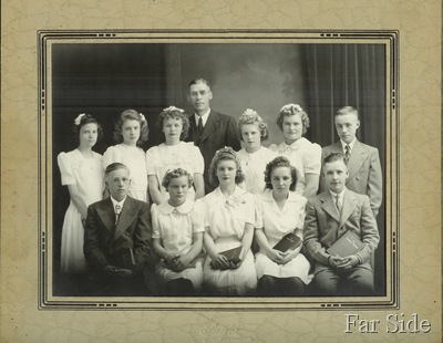 Madeline Confirmation Class 1944