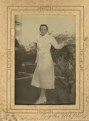 Nurse photo in frame Dorset Antiques