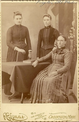 Three women Crookston from Soloway Antiques