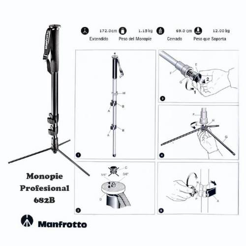 especificaciones manfrotto 682B