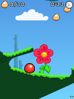 Screenshot4310 Bounce Tales (game by NOKIA 2009)