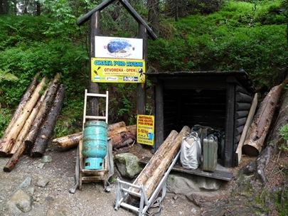 Matrialmitnahme zur Rysy Hütte