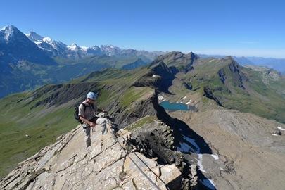 Klettersteig Schwarzhorn : Eine andere seite von jens oldenburg: schwarzhorn klettersteig bei