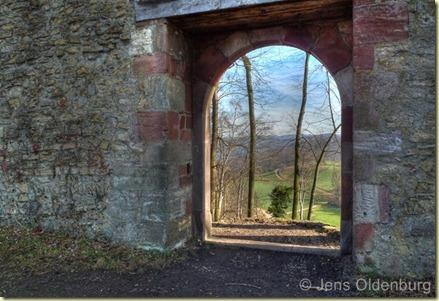 Wartenberg Mauer Tür 640