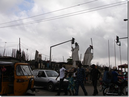 Famous monument in Lagos