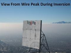 Wire Peak Inversion View