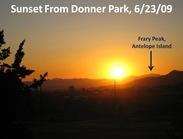 Sunset 6 23 09