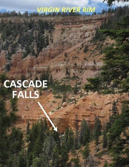 Cascade Falls caption