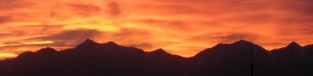 November Oquirrh Sunset cut