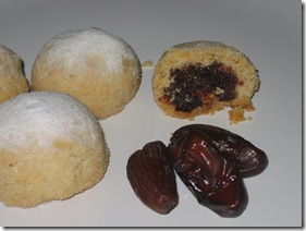 Mamul de datiles y nueces