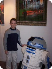 John meets R2D2
