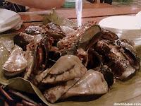 Yummy specialty! Adobong Tahong at Gardena Fresca Garden Pond & Grill