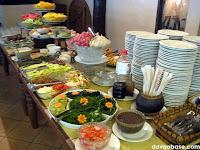 Salad and Dessert Bar in Nanay Bebeng Restaurant