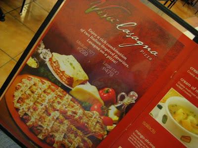 Pizza Hut's new product: Viva Lasagna Pizza