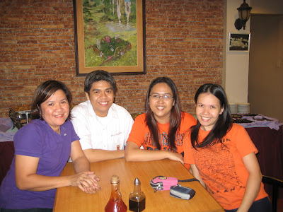 Chemical Engineers at the Molave Homestyle Bistro