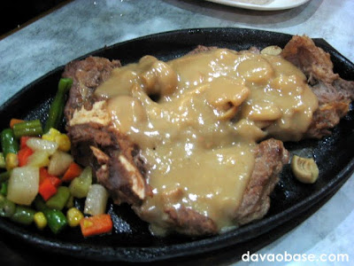 T-Bone Steak at Taklobo Restaurant