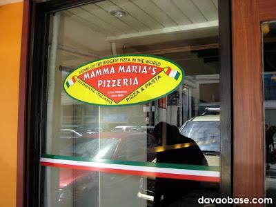 Mamma Maria's Pizzeria, J.P. Laurel Ave. Corner Iñigo St., Davao City