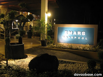 Emars Wavepool at Emars Hotel, Restaurant and Beach Resort in Times Beach, Davao City