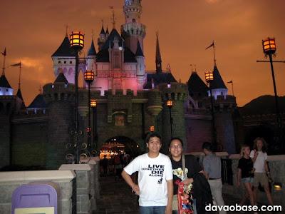 Sleeping Beauty's castle during Disneyland Hong Kong Halloween!