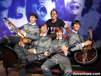 The Beatles at Madame Tussauds in The Peak, Hong Kong
