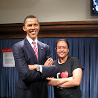 President Barack Obama at Madame Tussauds in The Peak, Hong Kong