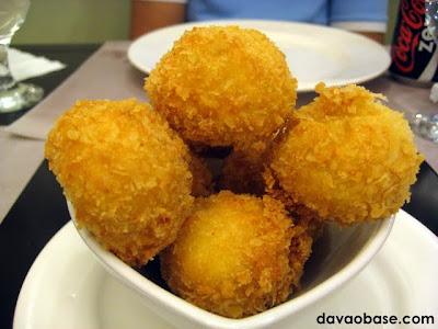 Cheese Balls at Alor's