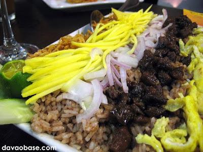 Kao Kluk Gapi (Bagoong rice) at Bangkok Wok