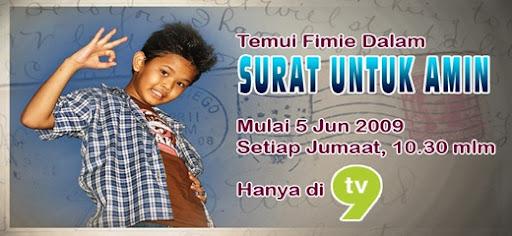 Fimie @ Surat Untuk Amin (Drama)