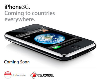 Telkomsel Indonesia - iPhone 3G