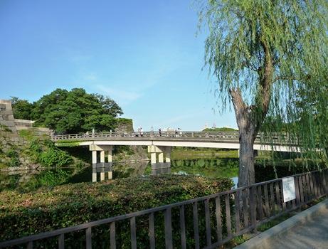 ponte entrada do castelo de osaka