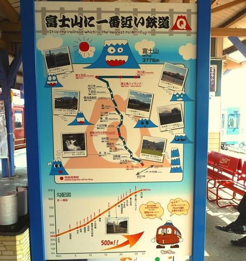 cartaz monte fuji