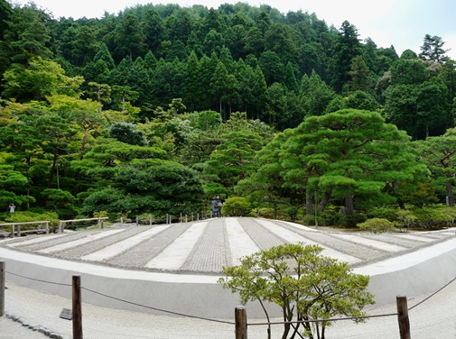 6.ginkakuji jardim pedra