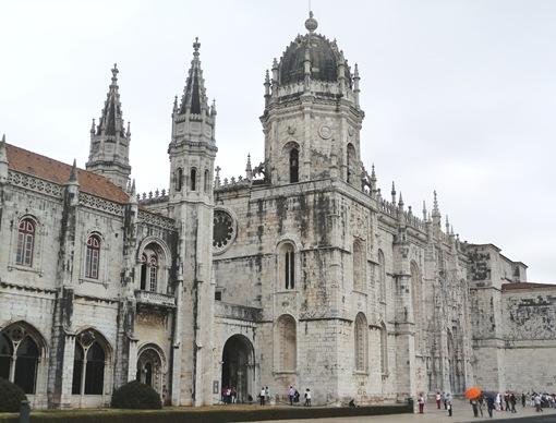 entrada do mosteiro dos jeronimos