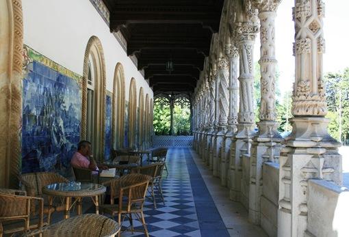 04 - Palácio de Buçaco - varanda