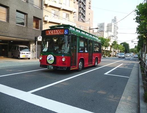 rua de asakusa - onibus