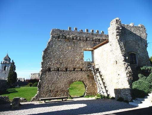 5 - Ruínas do Paço das Infantas do Castelo de Montemor-o-Velho