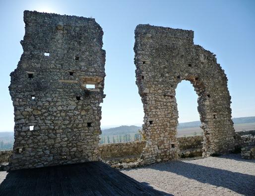 ruínas do Castelo de Montemor-o-Velho