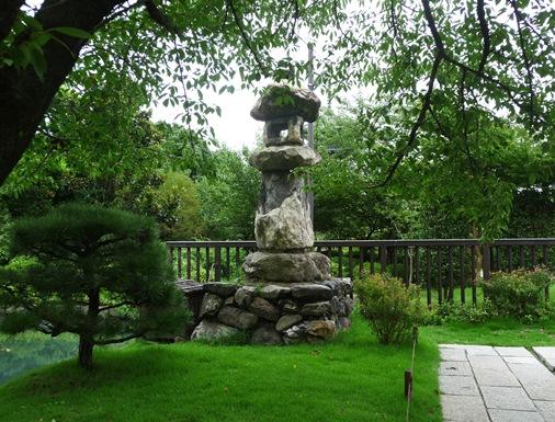 8.Templo Toji - candeeiro de pedra