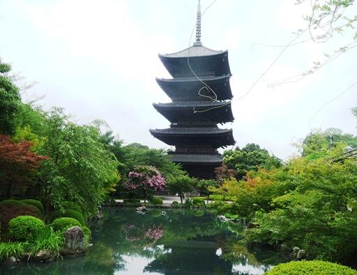 21. templo Toji - pagode 5 andares