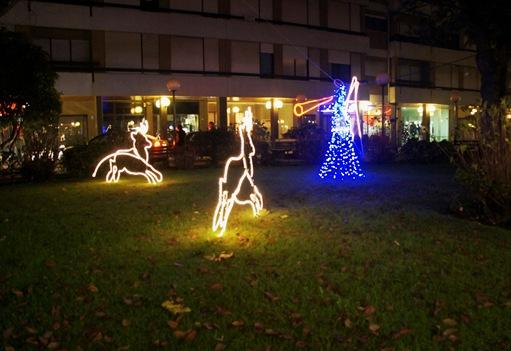 Agueda - Natal - Praça do Município - Anjo