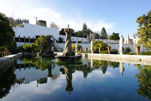 Castelo Branco - Jardim do Paço Episcopal – Lago das Coroas.