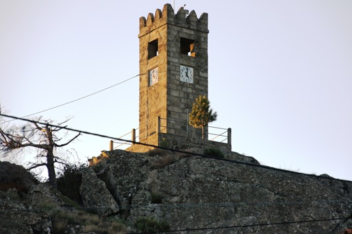 sortelha -  torre do relogio